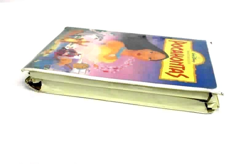 Lot of 2 Disney Pocahontas 1 and 2 Journey To A New World VHS Clamshell