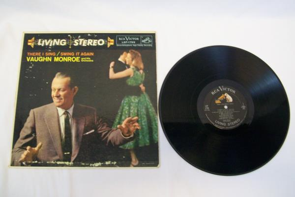 RCA Victor Records Vaughn Monroe There I Sing / Swing It Again