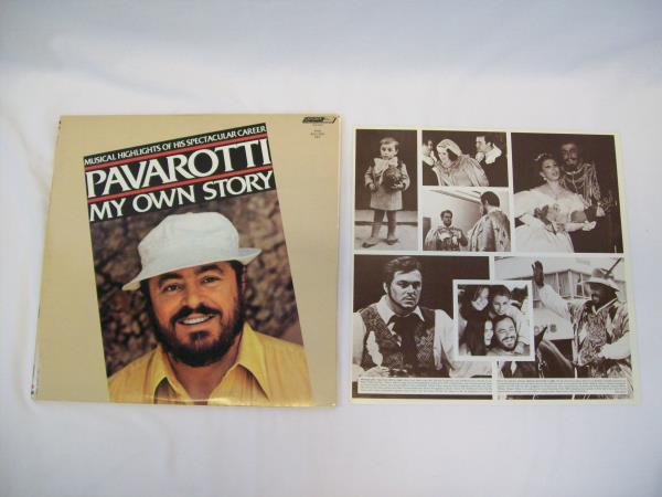 Musical Highlights Of His Career Pavarotti My Own Story 2 Vinyl Record Set 1981
