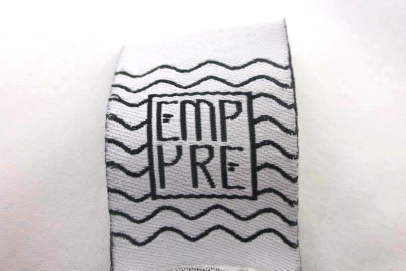 Empyre Women's Shirt Dark Purple White Heathered Mesh Elephant Emblem Size M