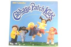 Vintage 1985 Cabbage Patch Kids  Wall Calender