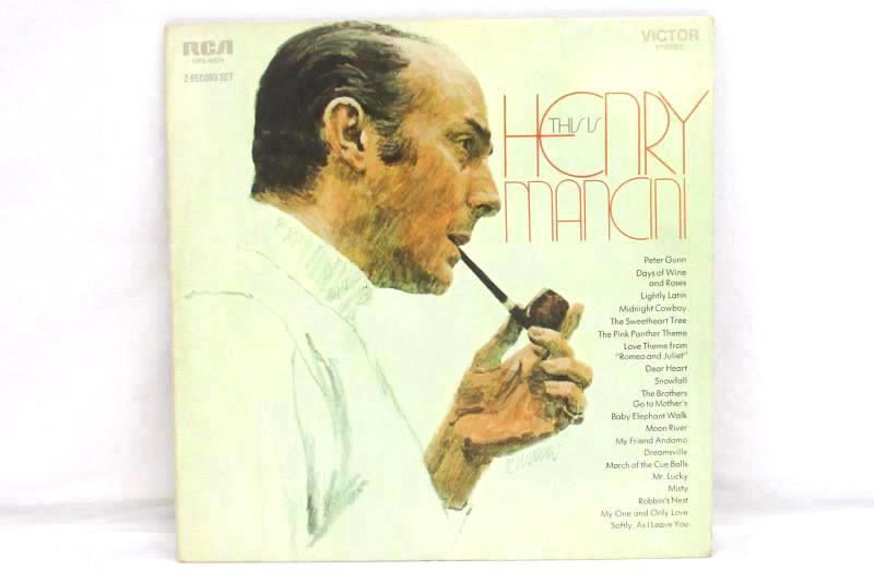 This Is Henry Mancini 1970 Jazz Vinyl Record VPS-6029