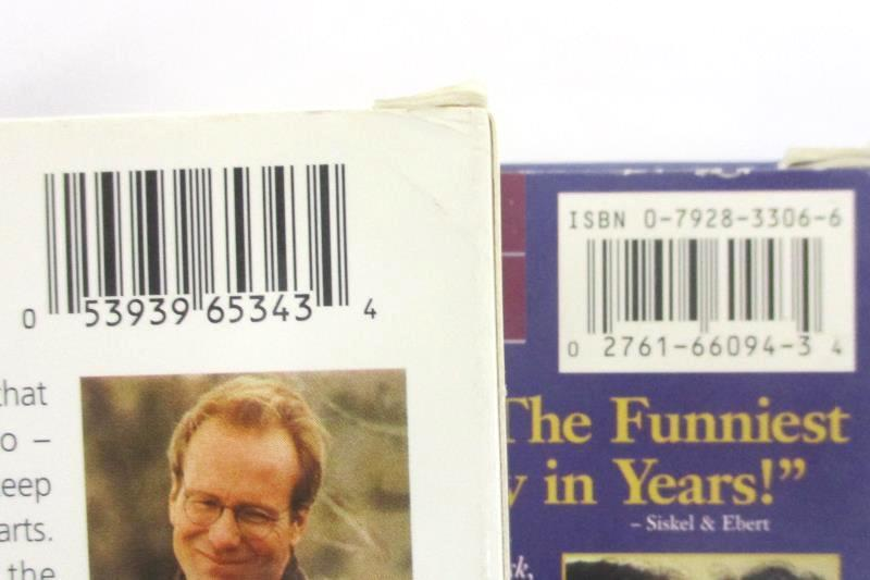 Lot Of 3 VHS Movies: Michael, Moonstruck, Terms Of Endearment