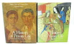 A History Of Private Life Volumes I And II by Paul Vernes And Georges Duby
