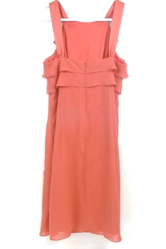 AFTER SIX Formal Dress Bridesmaid Cocktail Party Firecracker/Coral Women's Sz 6