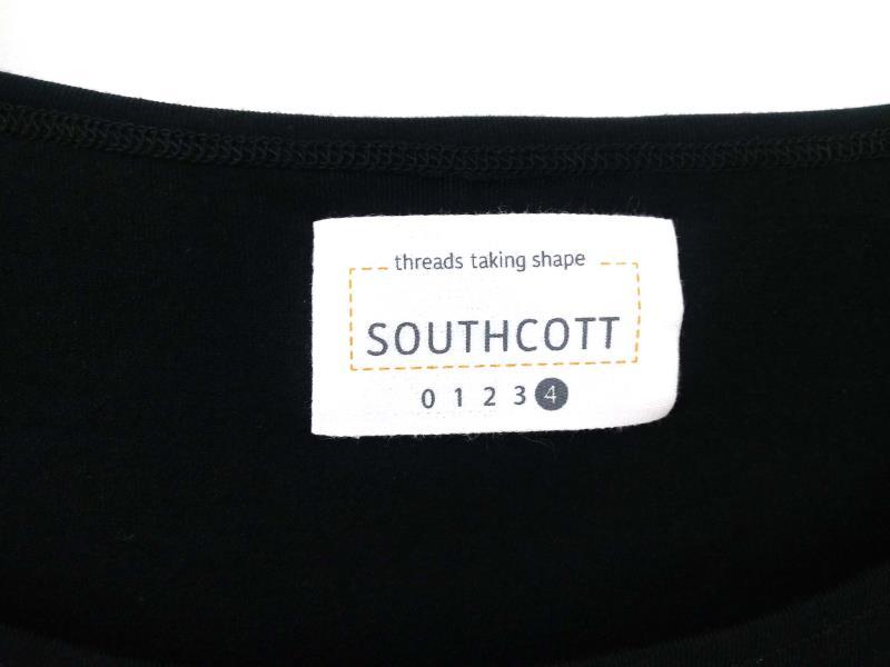"SOUTHCOTT THREADS ""Good Catch"" Black Sleeveless Drape Top Size XL NWT"