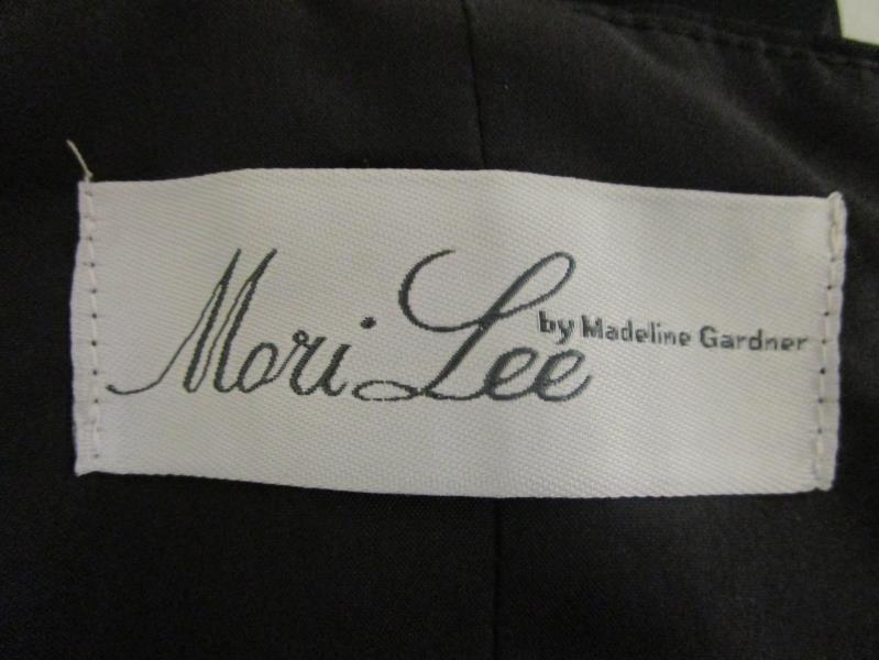 Top Skirt Set MORI LEE Black 100% Polyester Women's Size 12