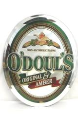 Non-Alcoholic Brews O'doul's Original & Amber Brewery Mirror