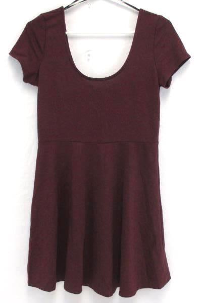Women's Forever 21 Scoop Neck Mini Dress Medium & Multi-Color Infinity Scarf