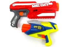 Nerf Mega Magnus And Buzz Bee Air Warriors Tek 6X  Soft Dart Guns Bundle