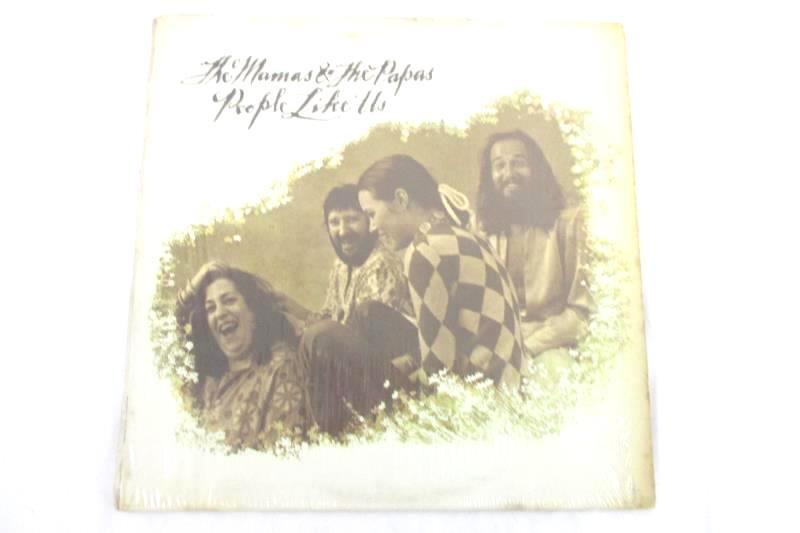 """The Mamas & The Papas People Like Us 12"""" Vinyl Record"""