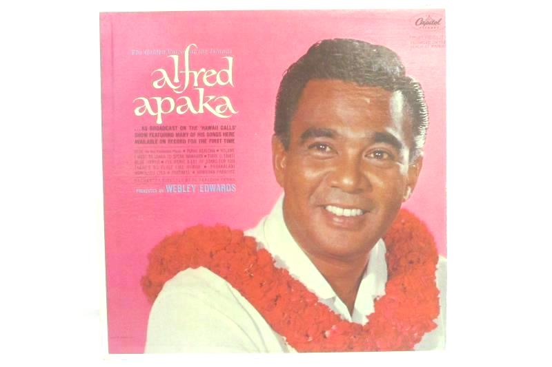 The Golden Voice Of The Islands Alfred Apaka 1963 Vinyl Record