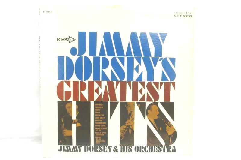 Jimmy Dorseys Greatest Hits 1967 Jazz Vinyl Record
