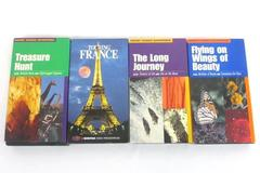 Lot Of 4 VHS Movies: 3 Moody Science Adventures For Children/ Touring France