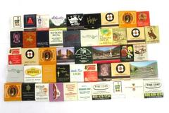 Vtg Lot of 46 Front Strike Matchbook Collection Hotel Hawaii Motel Casino