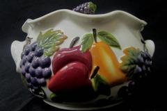 Celebrating Home Stoneware Collection Sonoma Villa Bean Pot 3 1/4 Quarts