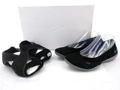 NIKE Studio Wrap Pack 3 Dance Footwear in Black/Cool Grey Women's Size 6
