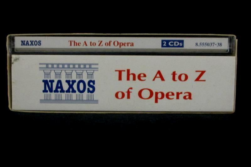 A - Z of Opera (includes 762 page booklet) by A-Z of Opera
