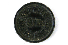 Vintage Plastic Token Badge Sopwith Camel Great Britain