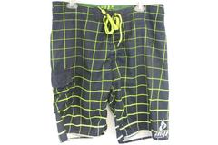AMP Energy Board Shorts Swim Trunks Men's Size 38