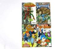 1990's Lot of 4 Assorted DC Comics Arsenal, Sapphire, Guy Gardner