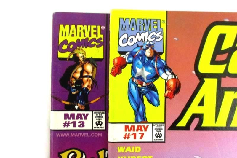 Lot of 4 Marvel Comics Spiderman, Journey Into Mystery, KaZar, Captain America