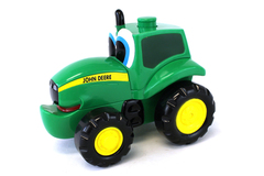 Ertl John Deere Stacking Johnny 2 In 1 Puzzle And Vehicle #2659A