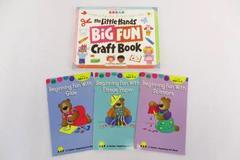 4 Children's Art Craft Books Toddler Little Hands Big Fun Beginning Art How To