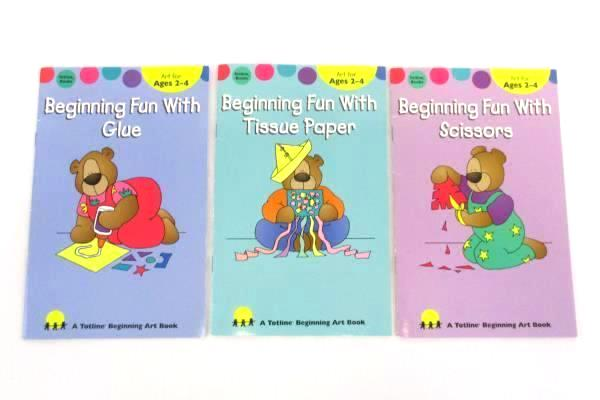 4 Children's Art Craft Books Toddler Little Hands Big Fun Beginning Art How To