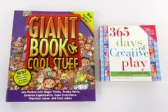 2 Children's Art Craft 365 Days Creative Play Giant Book of Cool Stuff How To