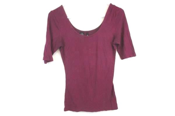 Lot of 3 Women's Shirts-Linfield, Lace-Up And Fuschia Wide Neck