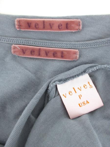 VELVET Cami & Shrug Sweater Set Long Tie Front Sequin Blue Sz S Anthropologie