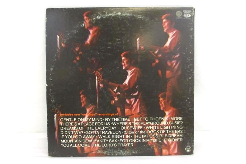 """Glen Campbell """"Live"""" 2-record Album Vinyl Record LP Capitol"""