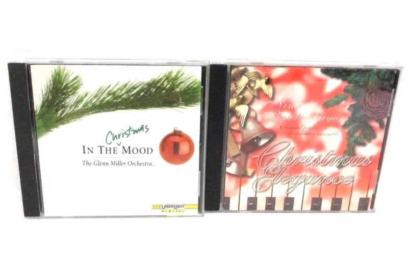 Lot Of 2 CD Glenn Miller Christmas Mood Nina Postolovskaya Elegance