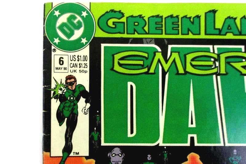 Lot of 3 Assorted DC Comics Green Lantern Justice Superman Comic Books
