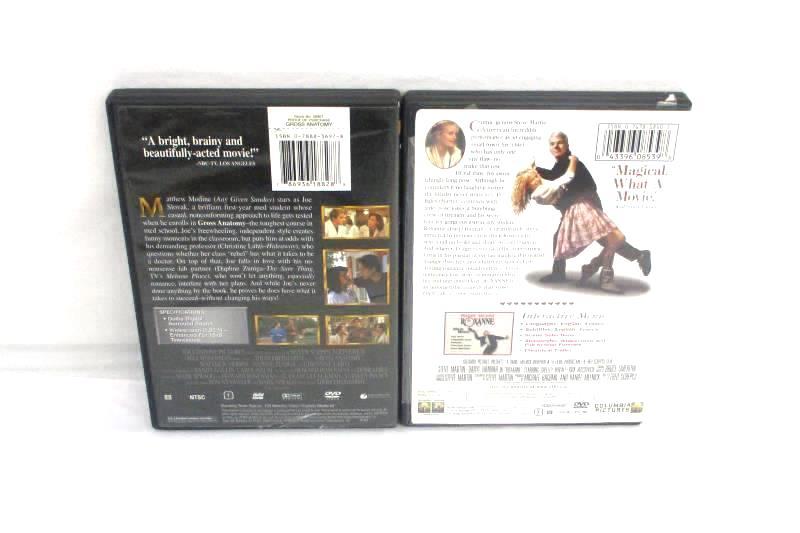 Lot Of 5 DVDs: Message In A Bottle, Forget Paris, Gross Anatomy, Roxanne, S.Diar