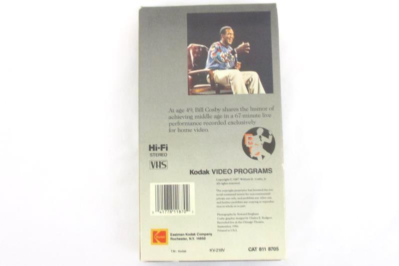 Bill Cosby:49 Stand Up Comedy VHS Kodak Tape 1987
