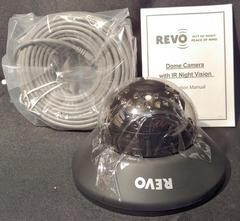 Revo 700 TVL Tinted Dome Camera w/ ICR 30IR Night Vision Indoor Only
