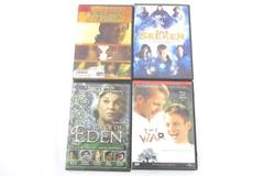 Lot of 4 DVDs: The War + The Seeker + How Did It Feel..? + A Piece Of Eden