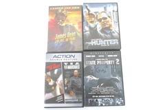 Lot of 4 DVDs US Marshals Fugitive James Dean Hunter State Property 2