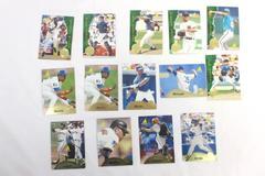 Lot of 14 Vintage 1995 Pinnacle Baseball Cards & Rookie Cards