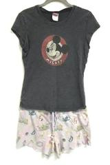 Disney Pajama Set Multicolor Cotton Blend Women's Top Size M Bottom Size S