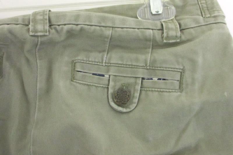 Toddler Boy J.Crew Classic Twill Wide Leg City Fit Olive Pants Trouser 2T
