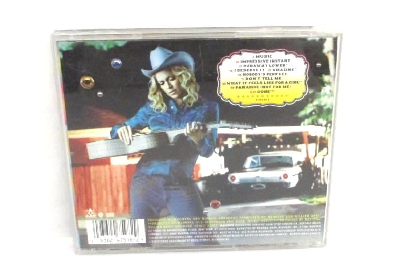 Lot of 2 Pop Music CDs Madonna Music Jewel Pieces Of You