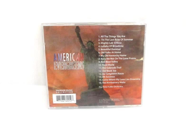 Lot of 2 CDs American Evergreens Indigo Featuring Brad Allison On Trumpet
