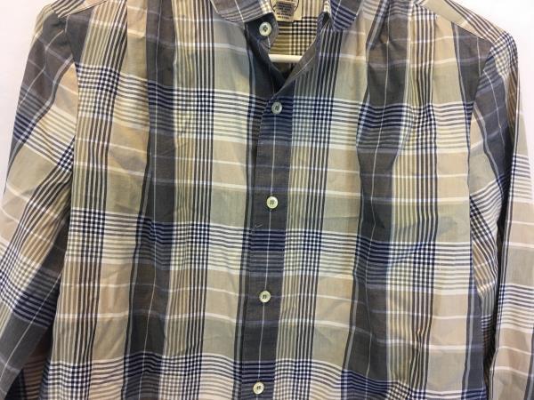 J.G Hook Children's Brown Tan Gray Plaid Thin Flannel Shirt Button Top Size 10