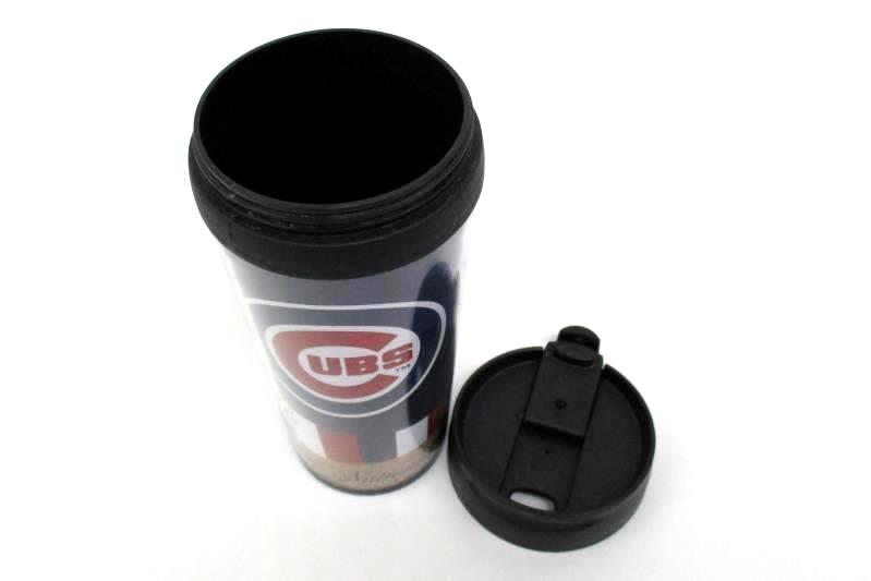 Coffee Travel Mug Chicago Cubs 2016 National League Champions Insulated