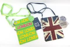Lot of 2- Robin Ruth Neck Wallet Cross Body Purse UK British Flag & London