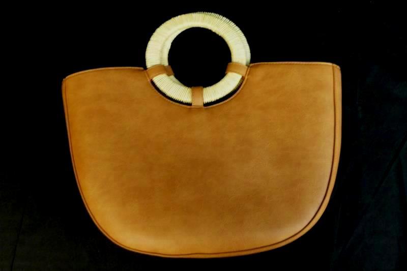 Universal Thread Goods Co Medium Handbag Purse Tan Draw String