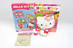 Sanrio Hello Kitty Lot Make A Match Game, Paint With Water, Figures, Frame